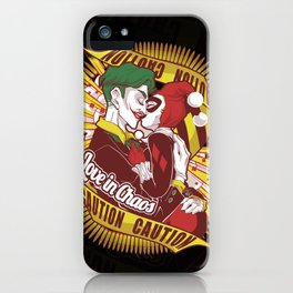 Love in Chaos iPhone Case