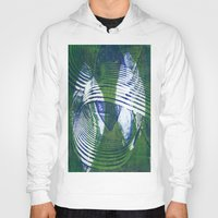 wave Hoodies featuring Wave by Sandra Hedicke Clark