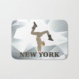Gymnastics New York Bath Mat