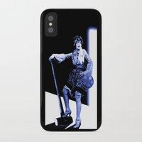 scott pilgrim iPhone & iPod Cases featuring Ramona Flowers - Scott Pilgrim by Danielle Tanimura
