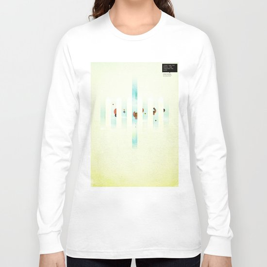 Fence: Facebook Shapes & Statuses Long Sleeve T-shirt