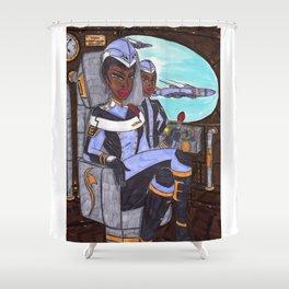 The Huntress Shower Curtain