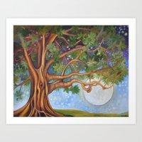 Tranquil Moonlight Art Print