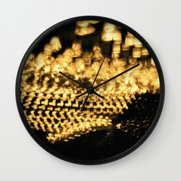 Countless lights Wall Clock