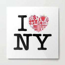 I everything NY Metal Print