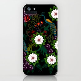 Fusion Of Traditional And Modern Era Print Of Bharat iPhone Case