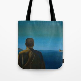 The Silent Man Tote Bag