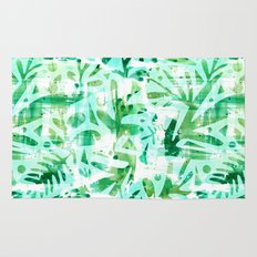 Abstract Jungle Rug
