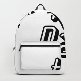 1 Dad Love My Daddy Fathers Day Gifts Backpack