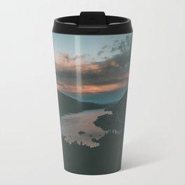 Columbia River Gorge Sunset Travel Mug