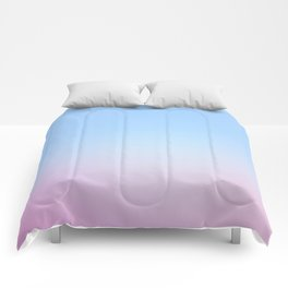 Cotton Blue Gradient Comforters