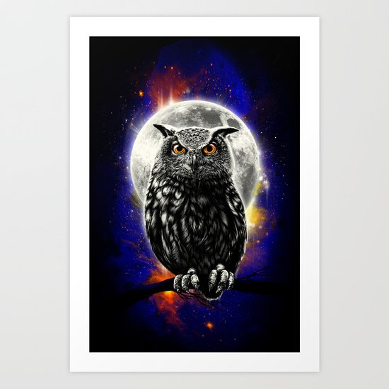 'The Watcher' Art Print
