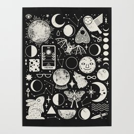 Lunar Pattern: Eclipse Poster