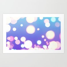 Night Lights Art Print