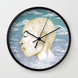 Sleep: Day By Chrissy Curtin Wall Clock