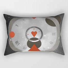 Time & Space Rectangular Pillow