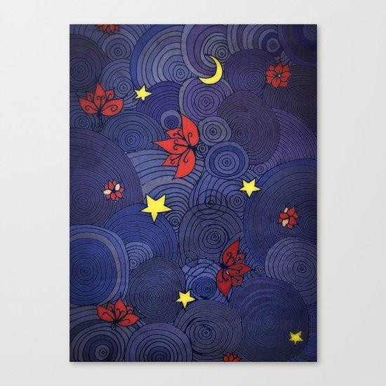 Lotus Sky Canvas Print