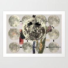 Mi luna Art Print