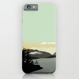 Misty Mountain II iPhone Case