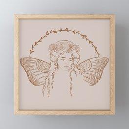 Blush Fairy Princess Framed Mini Art Print