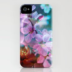 Double Flowers iPhone (4, 4s) Slim Case