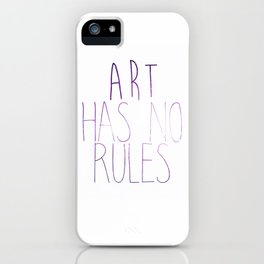 ART Rules2 iPhone Case