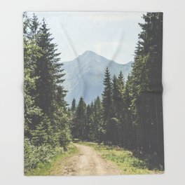 Adventure Awaits Throw Blanket