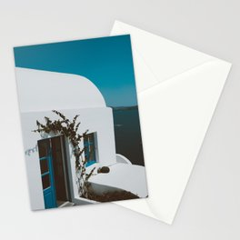 Grecian Blue & White Stationery Cards