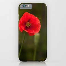 Poppy Red iPhone 6s Slim Case