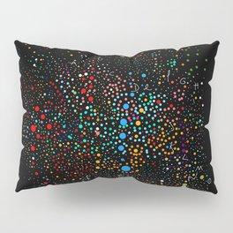 Space Alphabet Dots Colors Pillow Sham