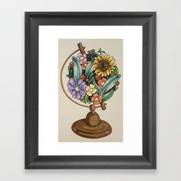 Beautiful World Framed Art Print