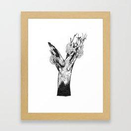 "Native Texas Plants ""Y"" Framed Art Print"