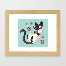 Elvis Want a Cookie? (from the My Favorite Murder podcast) Framed Art Print