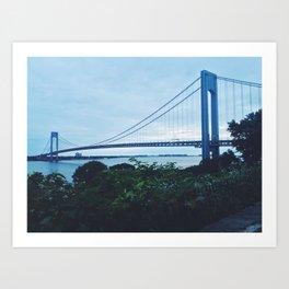 Verrazano Narrows x NYC  Art Print