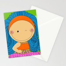 Happy Tuesday! - Fun, sweet, unique, creative and colorful, original,digital children illustration Stationery Cards