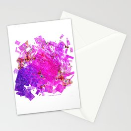 """""""Butterflies And Confetti"""" Stationery Cards"""