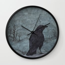 nightbird II Wall Clock
