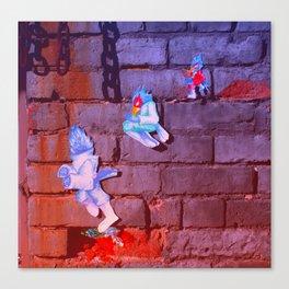 Falco Down Air Canvas Print