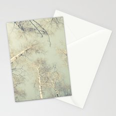 birch trees 3 Stationery Cards
