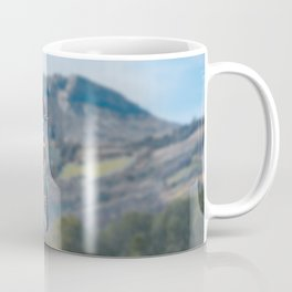 Motocross Jump in the Mountains Coffee Mug