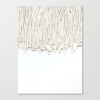 fringe Canvas Prints featuring Fringe by Caitlin Workman