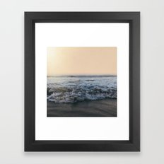 Sunrise Ocean Framed Art Print
