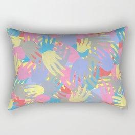 Hands: Ellipsis Rectangular Pillow