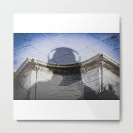 Una sombra. Metal Print