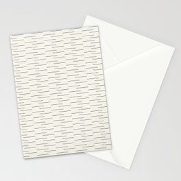 Simple Lines in Cream Stationery Cards