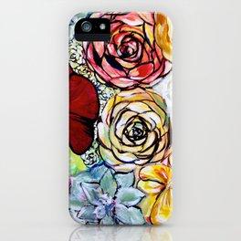 Southern California Garden iPhone Case