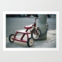 Trike Art Print