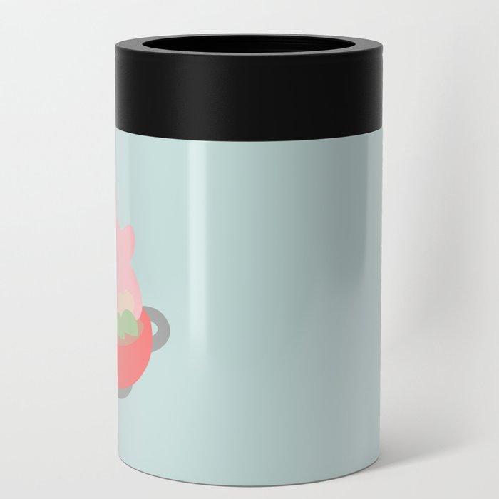 Rosa the Pig Hotpot (Blue) Can Cooler