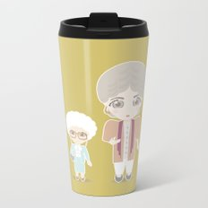 Girls in their Golden Years Metal Travel Mug