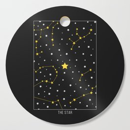 The Star - Tarot Illustration Cutting Board